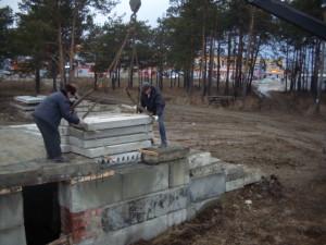 Возобновление строительства Мечети